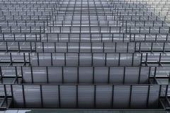 Stahlgebäude hoch Lizenzfreies Stockfoto