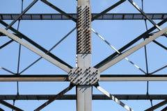Stahlgerüst Stockfoto