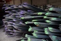 Stahlgestänge Stockfotos