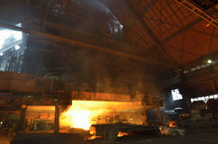Stahlgießerei Stockfotografie