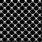 Stahlgitter mit nahtlosem Hintergrund der runden Löcher Lizenzfreies Stockbild