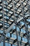 Stahlgitterfassade Lizenzfreies Stockbild