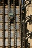 Stahlhöhenruder Stockfoto