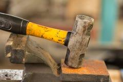 Stahlhammer Lizenzfreie Stockbilder