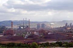 Stahlindustrie stockbilder