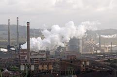 Stahlindustrie lizenzfreies stockfoto