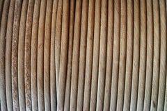 Stahlkabel, abstrakte Ansicht Lizenzfreie Stockbilder