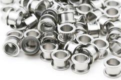 Stahlkarosserien-Schmucksachen stockfoto