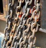 Stahlkette Lizenzfreies Stockfoto