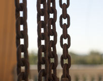 Stahlkette Lizenzfreie Stockbilder