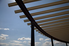 Stahlkonstruktion Lizenzfreies Stockbild