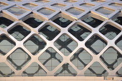 Stahlkonstruktionaufbau Externalteil Lizenzfreies Stockfoto