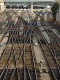 Stahllabyrinthe (2) Stockbild