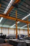Stahllager Speicher Lizenzfreie Stockbilder