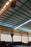Stahllager Speicher Stockfotografie