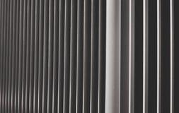 Stahllamellereihe Lizenzfreies Stockbild