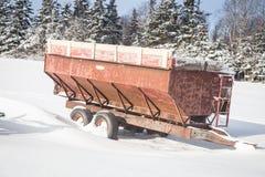 Stahllastwagen Lizenzfreie Stockfotografie