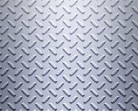 Stahllegierungsdiamantplatte Stockfotografie