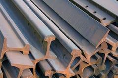 Stahllichtstrahlen Lizenzfreies Stockfoto