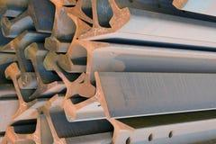 Stahllichtstrahlen Stockfotografie