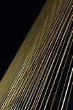 Stahllinie Brücke Stockfotos