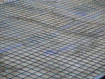 Stahlmasche auf Betonsockel Lizenzfreie Stockbilder
