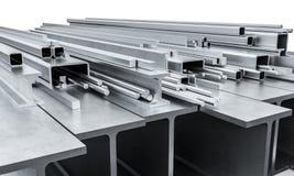 Stahlmetallstrahl 3d Stockbilder