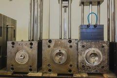 Stahlplastikeinspritzung-Würfel Lizenzfreies Stockfoto