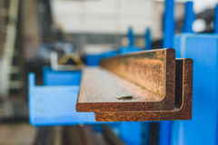 Stahlprofile Stockfotos
