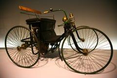 stahlradwagen för daimlermotorquadricycle Royaltyfri Fotografi