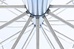 Stahlrahmen Stockbild