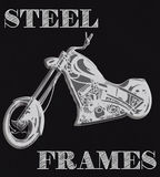 Stahlrahmen Stockfotos