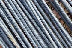 Stahlrod für Bau Lizenzfreie Stockbilder