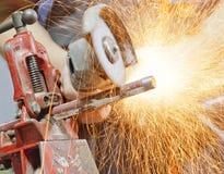 Stahlrohr Lizenzfreie Stockfotos