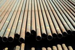 Stahlrohr. Lizenzfreies Stockbild