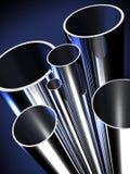 Stahlrohr-Ausgangsmaterial stock abbildung