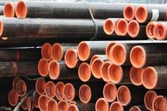 Stahlrohre Stockbilder