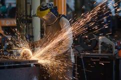 Stahlschleifer Lizenzfreie Stockfotos