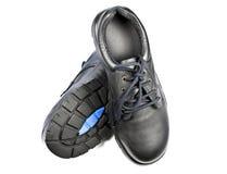 Stahlschutzkappen-Sicherheits-Schuhe Lizenzfreie Stockfotos