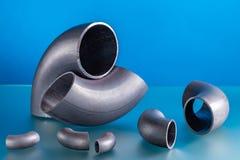 Stahlschweißensinstallationen lizenzfreies stockbild