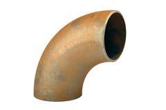 Stahlschweißensinstallationen und -verbindungsstücke stockfoto