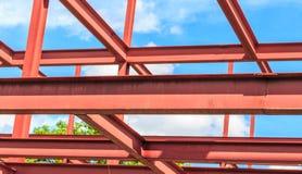 Stahlskelettbau Stockfotos