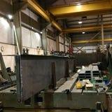 Stahlspalte Stockbilder