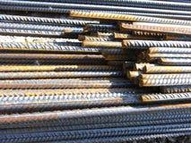 Stahlstäbe Lizenzfreies Stockfoto