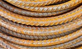 Stahlstab-Hintergrundbeschaffenheit lizenzfreie stockfotos
