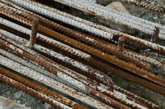 Stahlstange Lizenzfreies Stockfoto