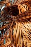Stahlstangen Stockfoto