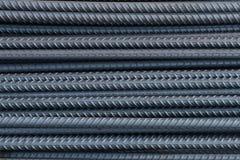 Stahlstangenbeschaffenheit Stockbilder