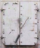 Stahltüren Stockbild