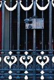 Stahltürgriff mit Verschluss